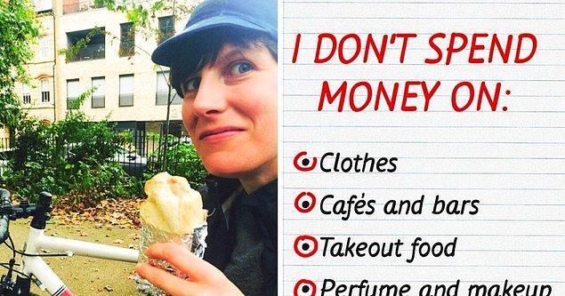 Öncelikle bakalım, Michelle'in para harcanacak ve harcanmayacak şeyler listelerinde neler var?
