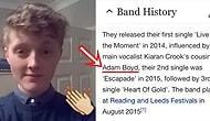 Sevdiği Grubun Vikipedi Sayfasına İsmini Ekleyerek Konseri VIP Seyreden Genç Adam!