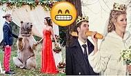 Rusların Düğün Fotoğrafçılığı Konusunda Bir Dünya Markası Olduğunun 17 Komik Kanıtı