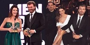 GQ Ödül Töreninin Konuşulanı Kazananlar Değil, Giydiği İddialı Elbiseyle Beren Saat Oldu!