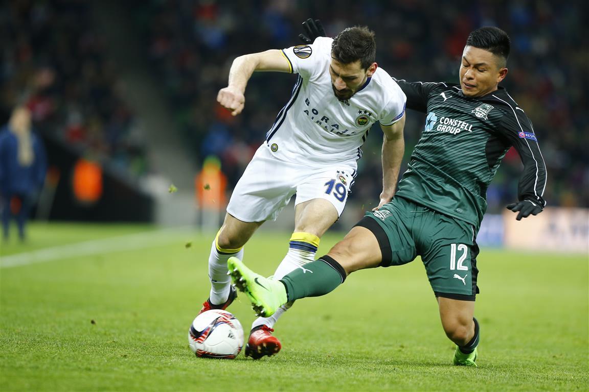 Fenerbahçe Turu Kadıköye Bıraktı: Krasnodar 1-0 Fenerbahçe 15