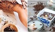Kahve ve Telvesi ile Yapabileceğiniz Günlük Hayatınızı Kolaylaştıracak 13 Mucize Bilgi