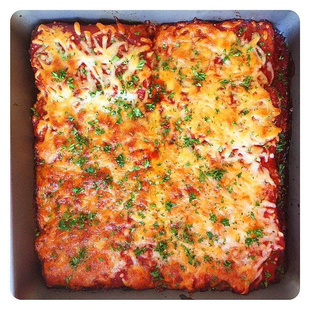 11. Tofu Pizza Tarifi