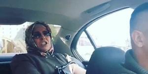 Annesini BMW'ye Bindirip Yanlayan Eleman