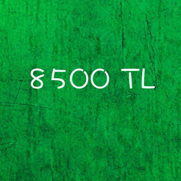 8500 TL!
