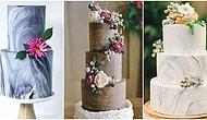 2017'de Evlenecek Çiftlerin Düğünlerinden Sıkça Bahsettirecek 15 Pasta Trendi