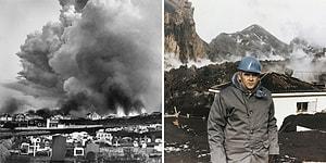 Patlaması ile Birlikte 1973 Yılında İzlanda'da Büyük Bir Felakete Yol Açan Yanardağ: Eldfell