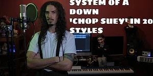 System Of A Down'ın Efsane Şarkısı 'Chop Suey'e 20 Farklı Tarzda Dokunuş
