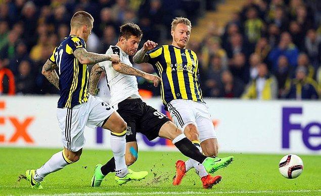 ⚽ [GOL!] 7' Smolov | Fenerbahçe 0-1 Krasnodar