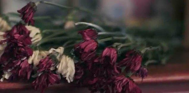 3. Bu solmuş çiçekler sana neyi çağrıştırıyor?
