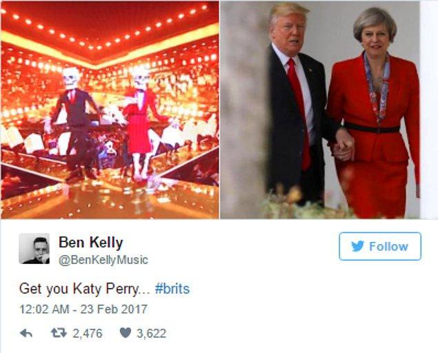 12. Evet, Trump ve Theresa May...
