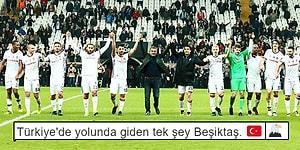 Beşiktaş'ın, UEFA Avrupa Ligi'nde Tur Atlamasının Ardından Yapılan Birbirinden Keyifli 14 Paylaşım