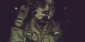El Bab'a Bomba İndiren Askerimizden SaltBae Hareketi