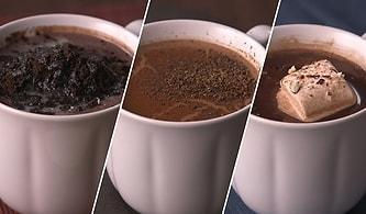 Havalar Soğurken İçimizi Isıtacak 3 Farklı Sıcak Çikolata Tarifi