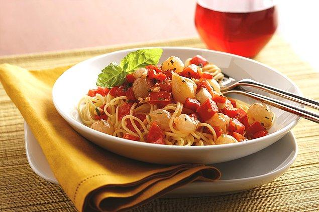 6. Leziz bir makarna sosu