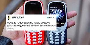 Efsane Geri Döndü! İşte 2017 Model Nokia 3310 ve Gelen İlk Tepkiler