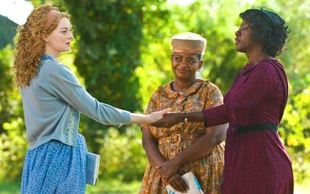 """Bu yılın bir diğer kazananı olan Emma'yla rol arkadaşı olduğu """"The Help (2011)"""""""