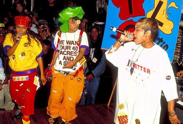 14. TLC, New York'ta bir partide performans sergilerken, 1993.