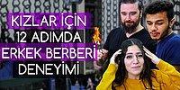 Türk Kadını, Erkek Berberine Giderse