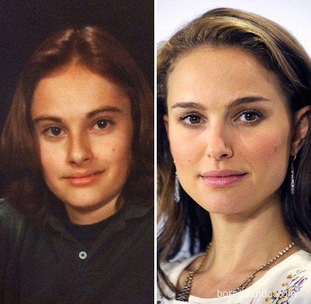 5. 13 yaşındaki hali aynı Natalie Portman olan kadın.