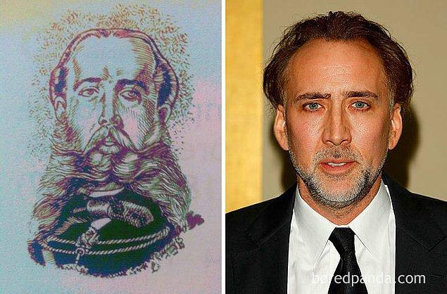 18. Maximiliano ve Nicolas Cage.