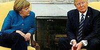 Trump'ın Merkel'in Elini Sıkmaması Sosyal Medyanın Gündeminde