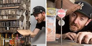 Her Detayına Büyüteçle Yakından Bakmak İsteyeceğiniz Minyatür Şehirler Yaratan Sanatçı