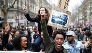 Paris'teki Polis Şiddeti Protestolarından 17 Çarpıcı Fotoğraf