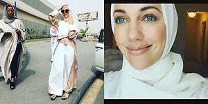 Meryem Uzerli, Suudi Arabistan Ziyareti İçin Tesettüre Girdiği Fotoğraflarını Paylaştı