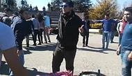 Anadolu Üniversitesi'ndeki Nevruz Halayını Troll'leyen Genç