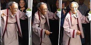 100 Yaşına Basan Nineden Muazzam Doğum Günü Dansı