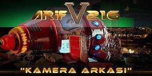 Cem Yılmaz'ın Yeni Filmi Arif V 216'dan Kamera Arkası Görüntüleri Geldi