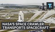 NASA'nın Roketlerini Taşıyan Devasa Araçlar!