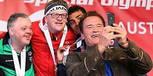 Özel Olimpiyatlar ile Dalga Geçen Vatandaşa Ağzının Payını Veren Süper Adam: Arnold Schwarzenegger