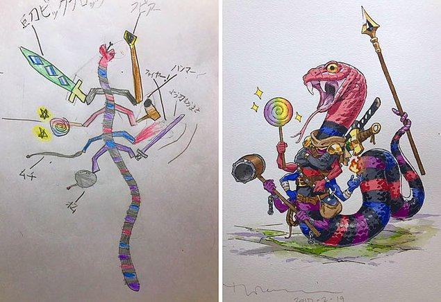 5. Savaşçı yılan