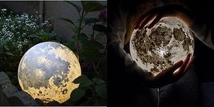 Kendinizi Uzayın Boşluklarında Hissetmenizi Sağlayacak Muhteşem Ay ve Gezegen Lambaları