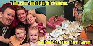 Ev Hanımı Anneden Üç Çocukla Yaşamın Nasıl Olduğunu Gösteren 26 Çılgın Fotoğraf