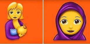 Emziren Kadından Baş Örtülüye, Zombiden Vampire Yepyeni Emojiler Geliyor!