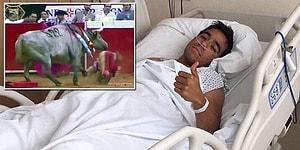 Kızgın Boğanın Boynuzlarından Kaçamayınca Anüsü Tamamen Parçalanan Matador
