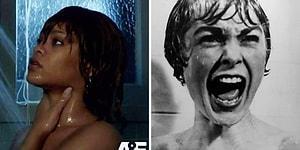 Rihanna'nın 'Bates Motel'de Canlandırdığı 'Psycho'nun Efsane Duş Sahnesi Yayınlandı