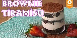 İki Lezzet Tek Kaşıkta: Brownie Tiramisu Nasıl Yapılır?