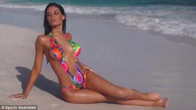 Bikini body painting