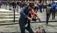 Sokak Sanatçısından Kulaklarınızın Pasını Atacak Muhteşem 'Shape of You' Performansı