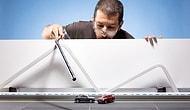 Audi'nin 50.000 Dolarlık Arabasının Fotoğraf Çekiminde 32 Dolarlık Minyatür Kullanan Sanatçı