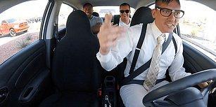 Yolcularına Yaptığı Sürprizle Diplerini Düşüren Uber Şoförü