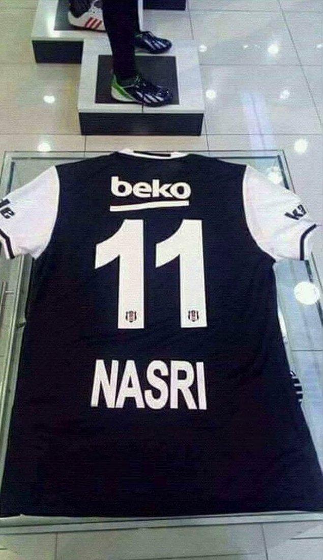 6. Samir Nasri - Beşiktaş