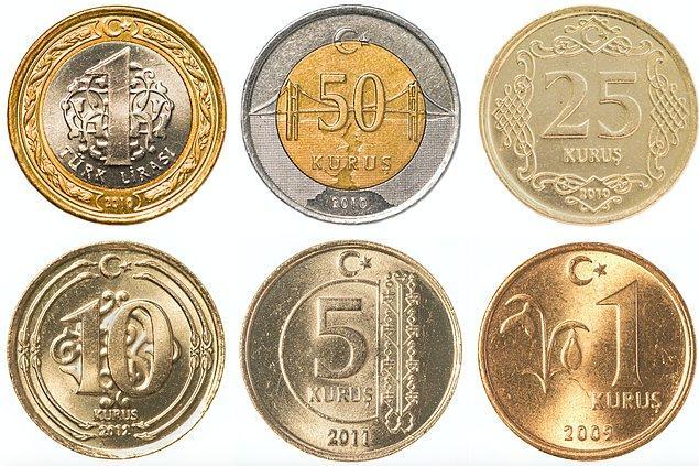 12. Madeni paralar tek bir maddeden üretilmiyor.
