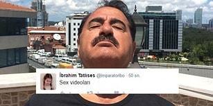 İbrahim Tatlıses'in Twitter Hesabından Pala Remzi Gibi Atılan Sex Tweetleri
