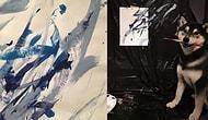 Klasik Ressamları Kıskandıracak Bu Minnoş Ressam Shiba İnu ile Tanışın!