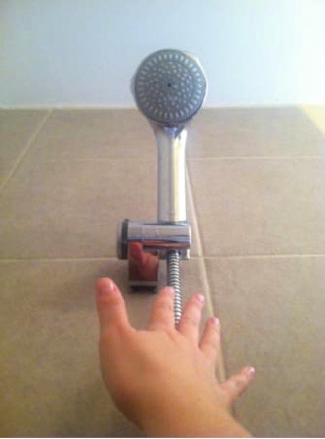 12. Yani bu duş başlıklarını hangi dev taktıysa biz ayarlayamıyoruz.
